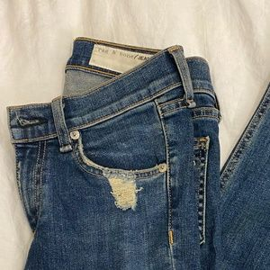 Rag & Bone Size 24 Skinny Ankle Jeans
